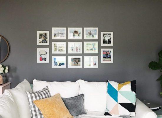 decorar as paredes da sua casa